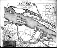 Marinette City - Middle - Above, Marinette County 1912