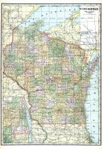 State Map, Marquette County 1919