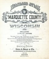 Title Page, Marquette County 1919