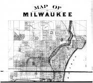 Milwaukee - Above, Milwaukee County 1876