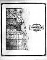 Milwaukee County Sectional Map, Milwaukee County 1876