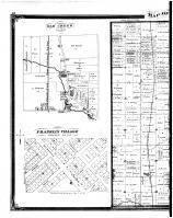 Oak Creek Township, Franklin Village - Left, Milwaukee County 1876
