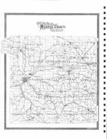 Outline Map, Monroe County 1897