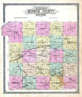 County Map - Outlline, Monroe County 1915