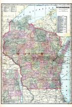 State Map, Monroe County 1915