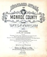 Title Page, Monroe County 1915