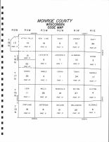Index Map, Monroe County 1985