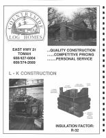 Country Side Log Homes, Monroe County 1994
