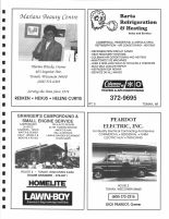 Marians Beauty Centre, Barta Refrigeration & Heating, Granger's Campground, Peardot Electric, Monroe County 1994