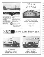 Oakdale Electric Cooperative, Vrana Drywall, Gary's Auto Body, Monroe County 1994