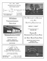 Pioneer Auto Sales, Wildes Transmisson, Service, Sonnenburg Funeral Home, Forget-Me-Not Gardens, Monroe County 1994