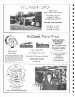 The Right Spot, HoChunk Travel Plaza, Legends Supper Club, Woodland Gift Shop, A Cut Above, Monroe County 1994