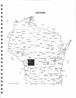 Wisconsin State Map, Monroe County 1994