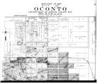 Oconto City - East - Above, Oconto County 1912 Microfilm