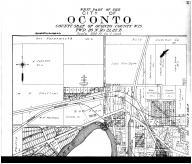 Oconto City - West - Above, Oconto County 1912 Microfilm