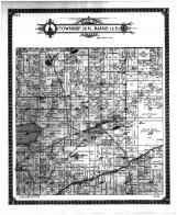 Township 28 N Range 18 E, Mosling, Gillett, Christy Lake, Oconto County 1912 Microfilm
