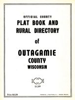 Cover Page, Outagamie County 1954