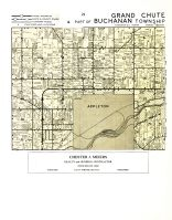 Grand Chute and Part of Buchana Township, Outagamie County 1954