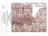 Vandenbroek Township, East Part of Buchanan Township, Outagamie County 1954