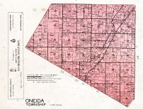 Oneida Township Lower Section, Outagamie County 1955c