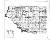 Pierce County Outline Map, Pierce County 1877