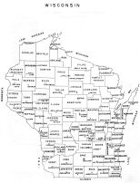Wisconsin State Map, Pierce County 1959