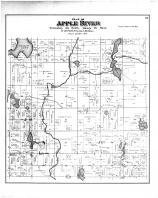 Apple River Township, Polk County 1887