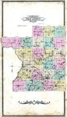 County Outline Map, Polk County 1914