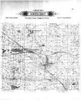 Amherst Township, Nelsonville, Amherst Junction, New Hope PO, Portage County 1895