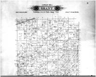 Grant Township - Above, Portage County 1895
