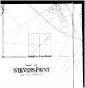 Stevens Point - Below Left, Portage County 1895