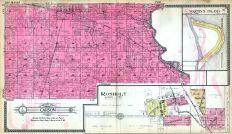Carson Township, Rosholt, Martin's Island, Portage County 1915