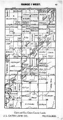 Town 34 N Range 1 W - Page 045, Price County 1910