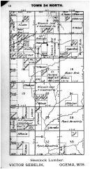 Town 34 N Range 2 E - Page 016, Price County 1910
