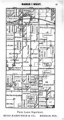Town 35 N Range 1 W - Page 047, Price County 1910