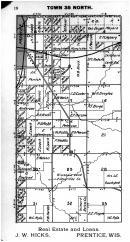Town 35 N Range 2 E - Page 018, Price County 1910