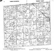 Town 36 N Range 1 E - Page 034 - 035, Price County 1910