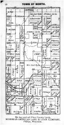 Town 37 N Range 2 E - Page 022, Price County 1910