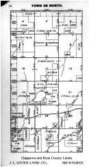 Town 38 N Range 2 E - Page 024, Price County 1910