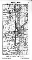 Town 40 N Range 1 W - Page 057, Price County 1910