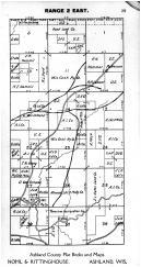 Town 40 N Range 2 E - Page 029, Price County 1910