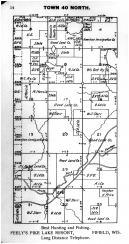 Town 40 N Range 3 E - Page 014, Price County 1910