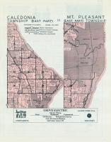 Caledonia Township - East, Mt. Pleasant - East, Racine, Racine County 1950c
