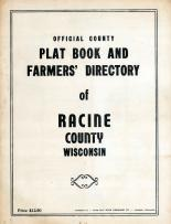 Title Page, Racine County 1950c