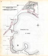 Brown's Lake - Sections 27, 28 33, and 34 - Page 052, Racine County 1956
