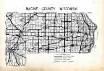 Index Map, Racine County 1956