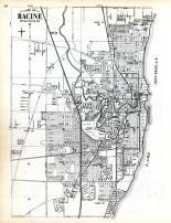 Index Map - Racine City, Racine County 1956