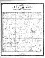 Brighton Township, Flanagan Lake, Racine and Kenosha Counties 1887