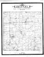 Bristol Township, George Lake, Racine and Kenosha Counties 1887