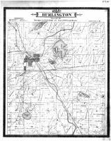 Burlington Township, Browns Lake, Racine and Kenosha Counties 1887